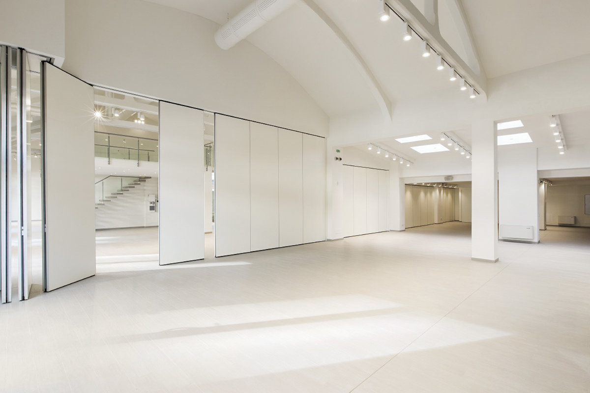 Storefront listing Prime Zona Tortona Event Space, Milan, Italy.