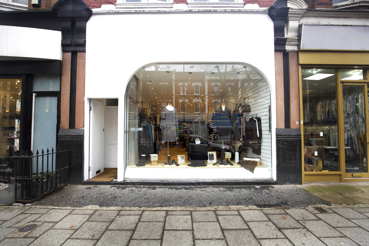 Storefront listing Pop-Up Shop Share in Chiswick in Chiswick, London, United Kingdom.