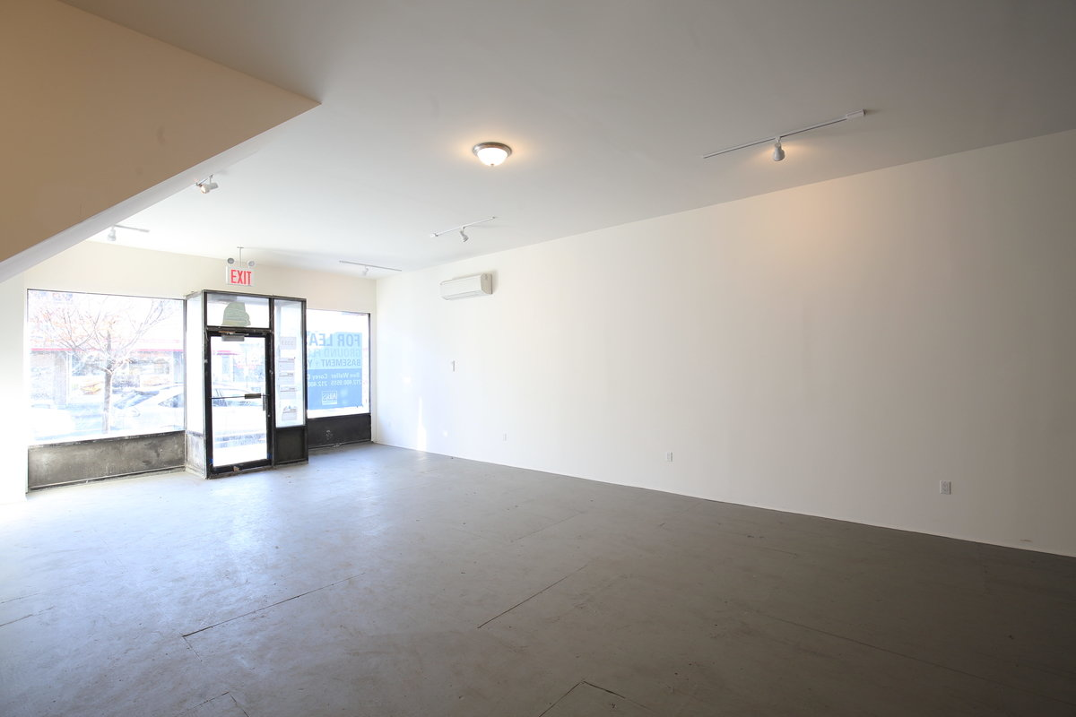 Storefront listing Retail Space in Busy Bushwick in Morgan Avenue, New York, United States.