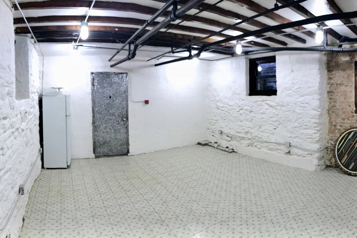 Storefront listing Underground Space in Bushwick in Bushwick, Brooklyn, United States.