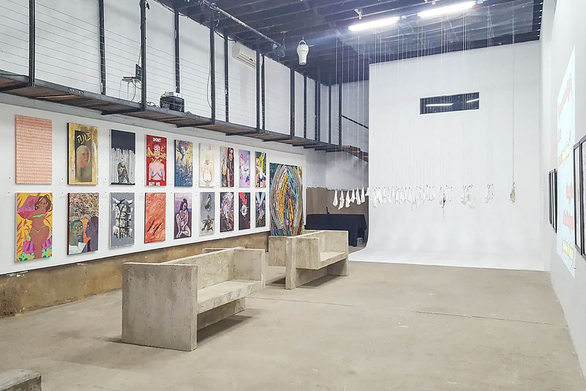 Storefront listing Gallery Space in Williamsburg in East Williamsburg, New York, United States.