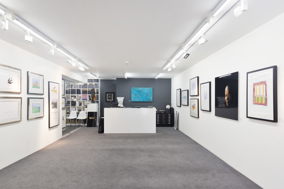 Storefront listing Contemporary Gallery in Mayfair in Mayfair, London, United Kingdom.