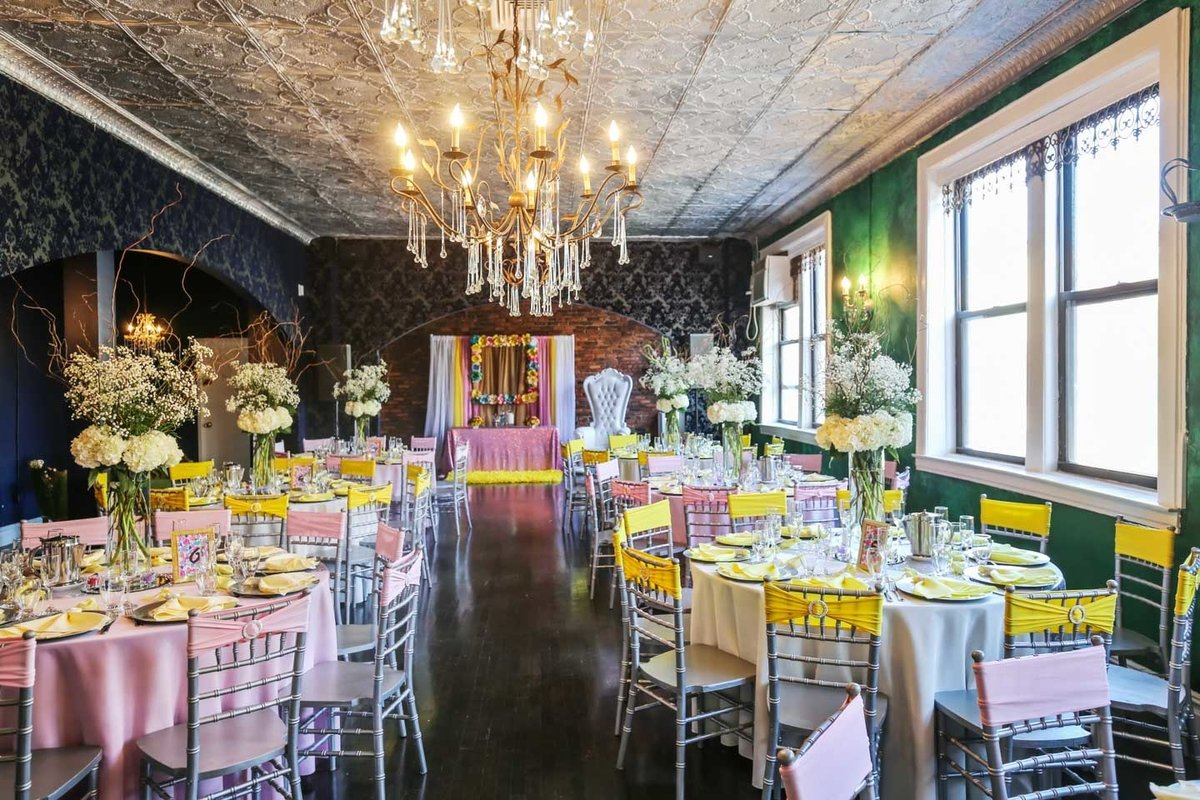 Storefront listing Stylish Event Space in Belmont, New York, United States.