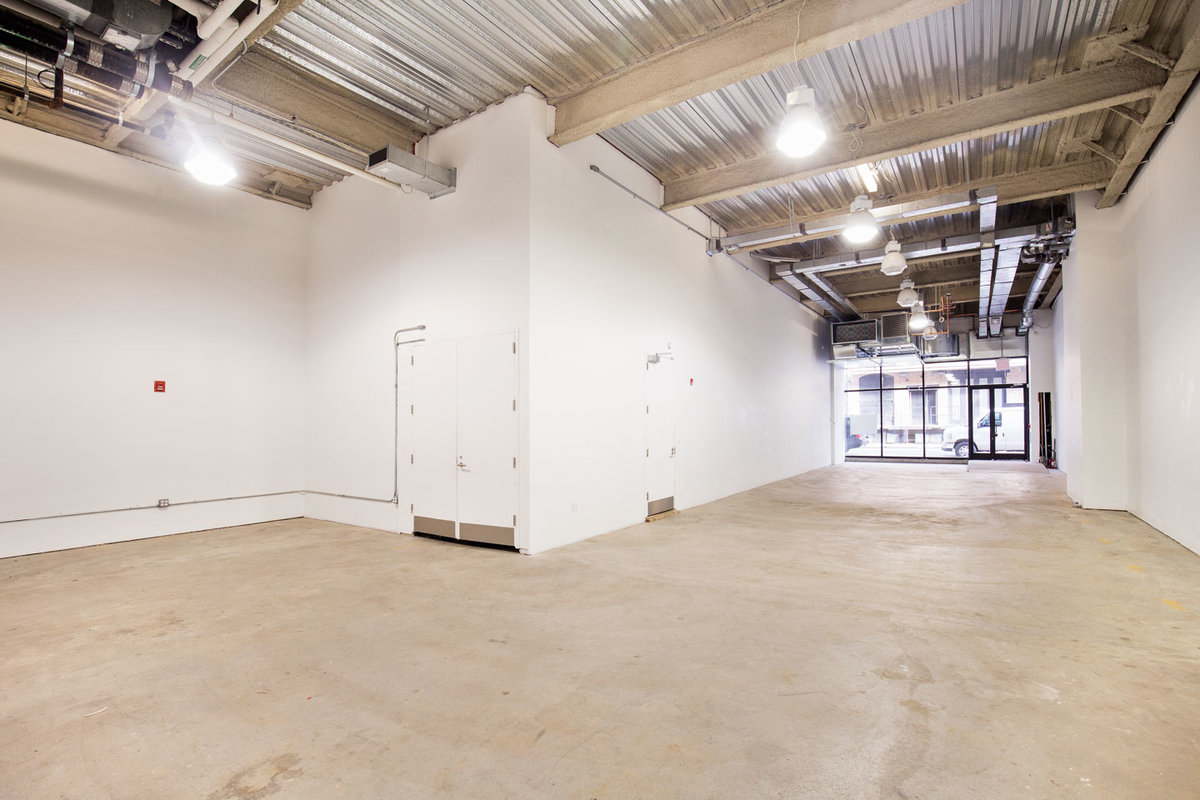 Storefront listing White-Box Meatpacking Retail Space in Meatpacking District, New York, United States.