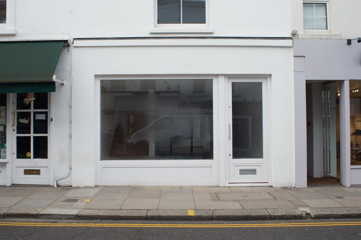 Storefront listing South Kensington Boutique in Chelsea, London, United Kingdom.