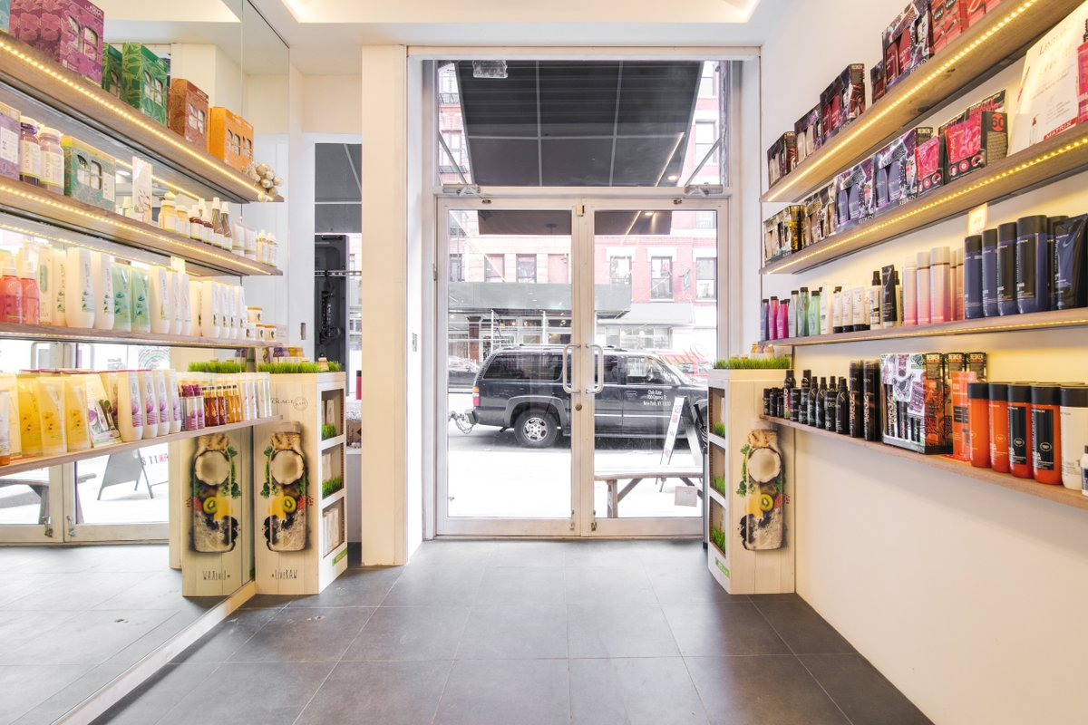 Storefront listing Shared Retail Space in SoHo in SoHo, New York, United States.