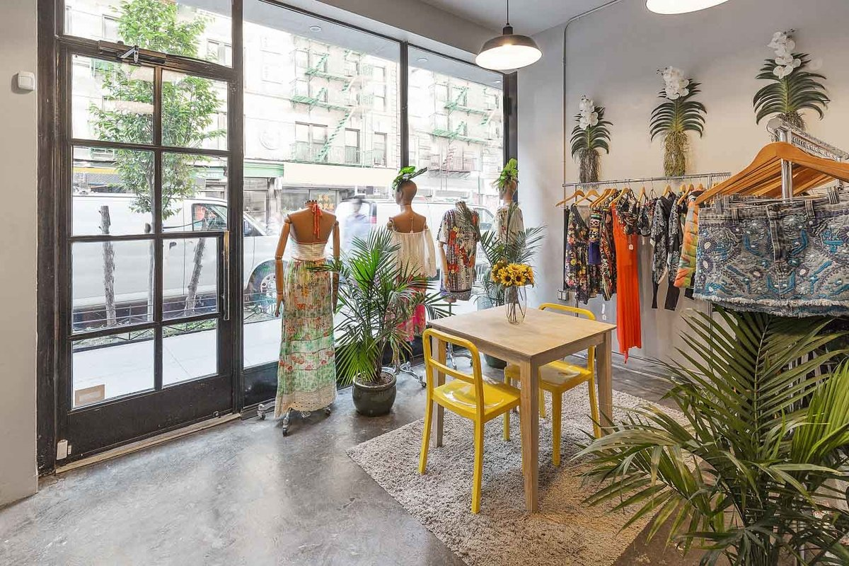 Storefront listing Shared Space in Nolita in Soho, New York, United States.