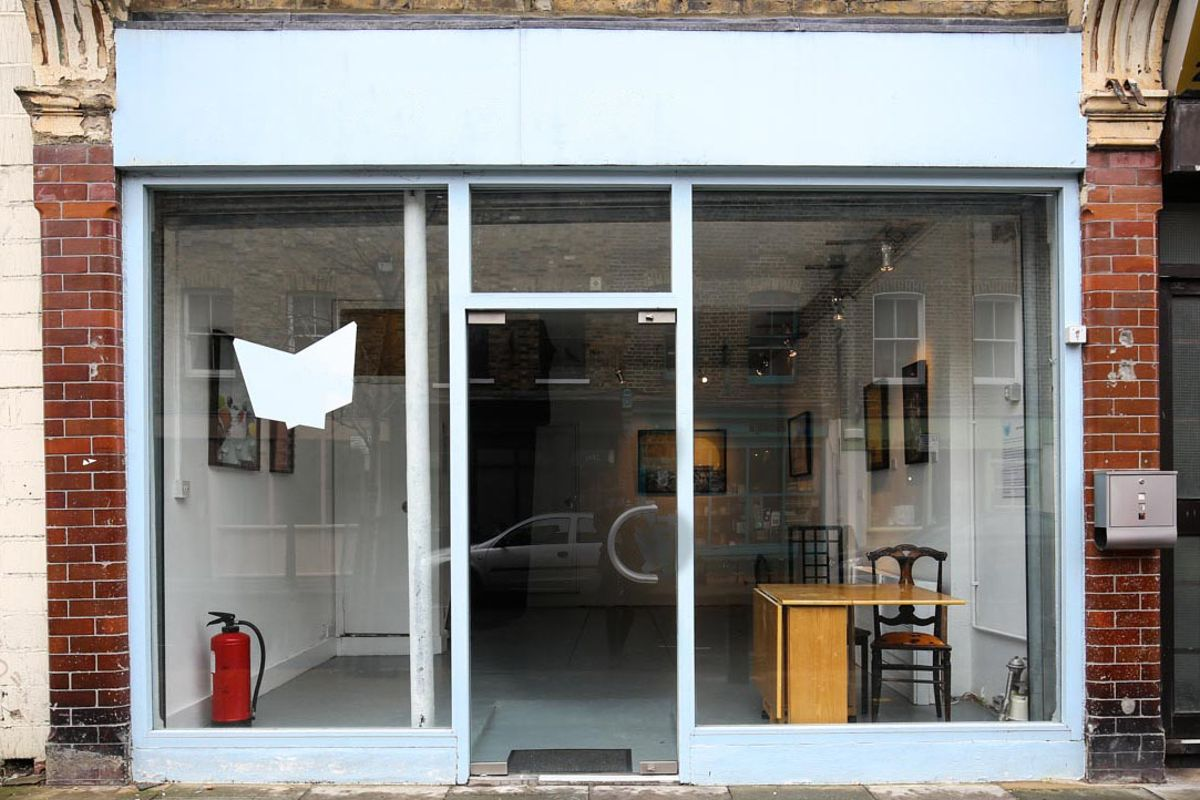 Storefront listing Cosy Pop-Up Space in Bethnal Green in Bethnal Green, London, United Kingdom.