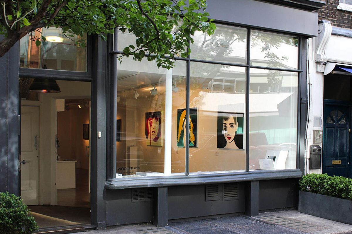 Storefront listing Gallery Showroom in Fitzrovia in Fitzrovia, London, United Kingdom.