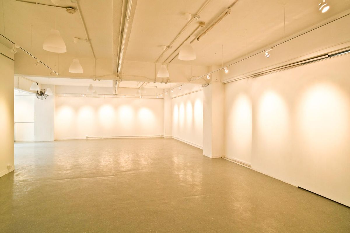 Storefront listing Trendy Art Loft-Style Warehouse in Wan Chai in Causeway Bay (West), Hong Kong, Hong Kong.