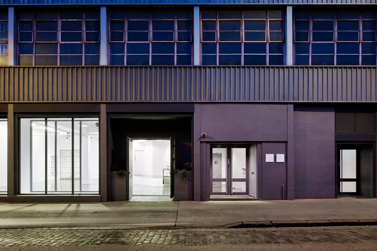 Storefront listing Incredible Studios in Wapping in Whitechapel, London, United Kingdom.