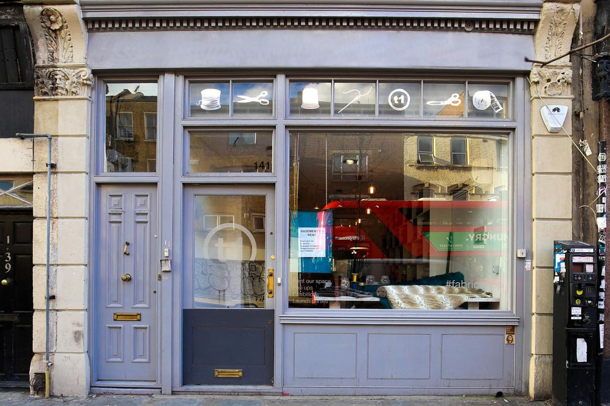 Storefront listing Boutique Space in Shoreditch in Shoreditch, London, United Kingdom.
