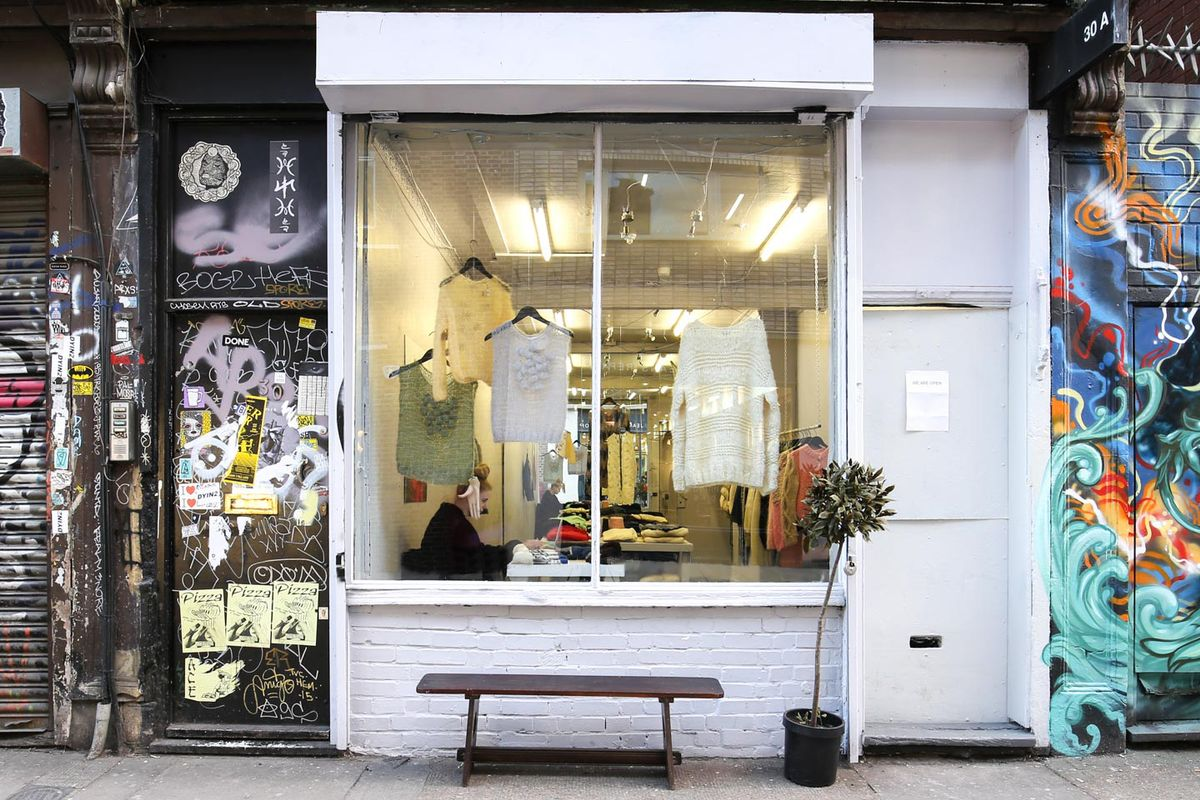 Storefront listing Quirky Pop-Up Space in Shoreditch in Shoreditch, London, United Kingdom.