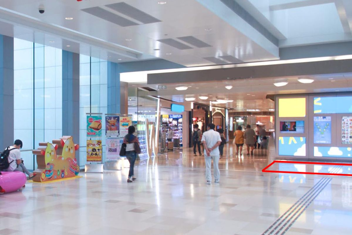 Storefront listing Pop-up Space in Busy Tuen Mun Mall in Tuen Mun, Hong Kong, Hong Kong.