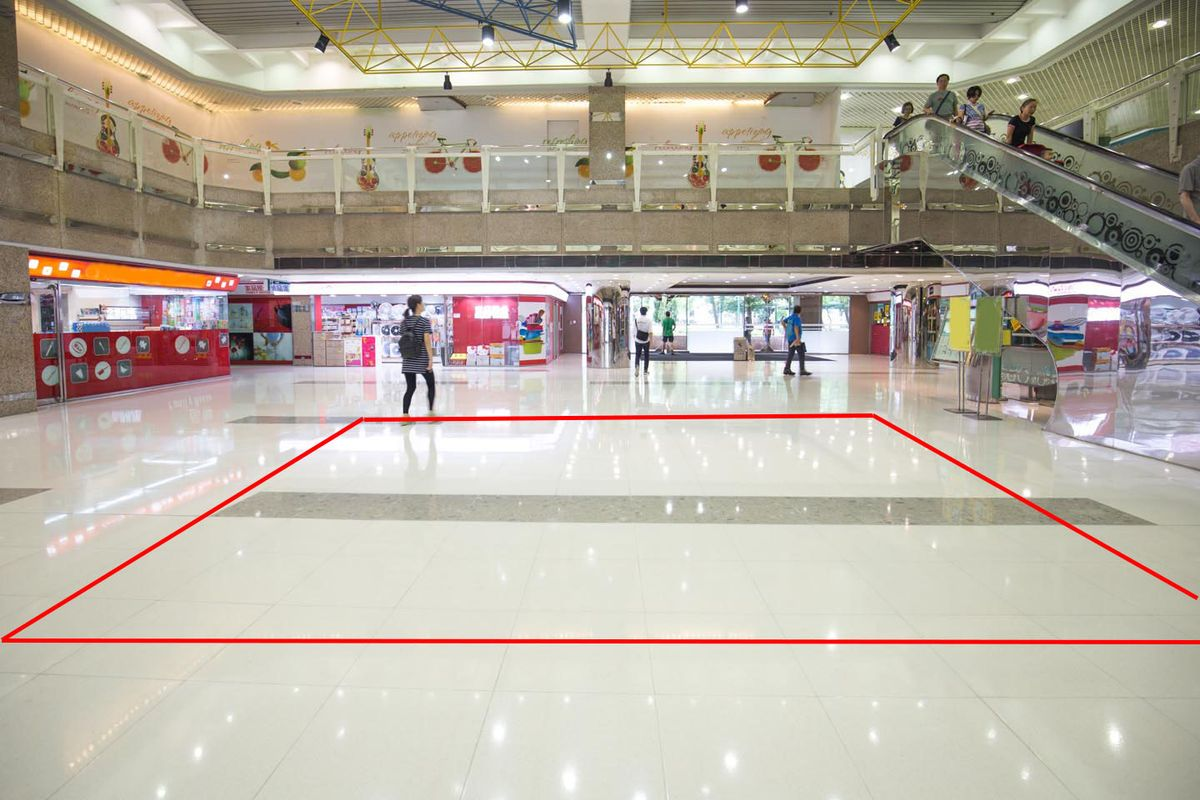 Storefront listing Large Pop-Up Space in Fanling Mall in Fanling, Hong Kong, Hong Kong.