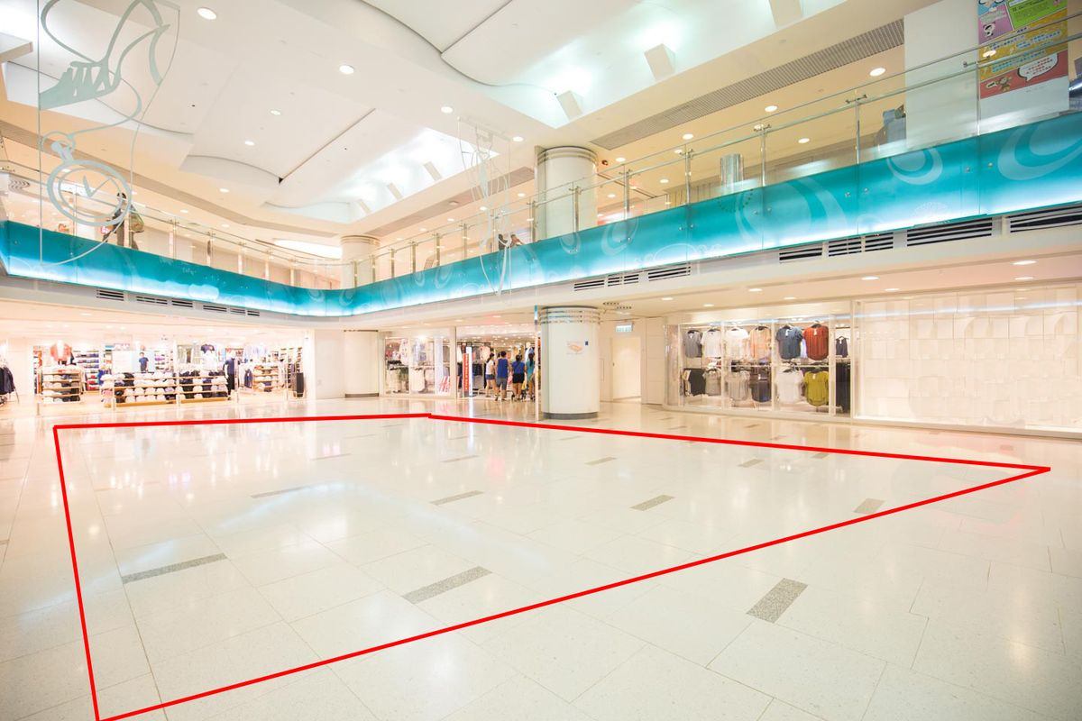 Storefront listing Prime Pop-Up Space Vibrant Whampoa in Hung Hom, Hong Kong, Hong Kong.