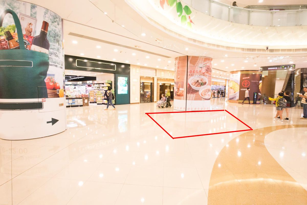 Storefront listing Pop-Up Space in Tsuen Wan Mall in Tsuen Wan, Hong Kong, Hong Kong.