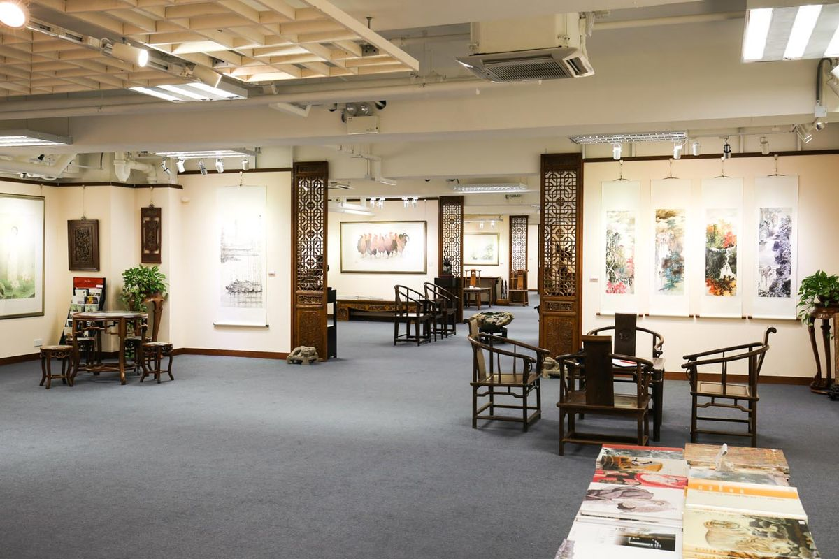 Storefront listing Versatile Art Gallery in Kowloon in To Kwa Wan, Hong Kong, Hong Kong.