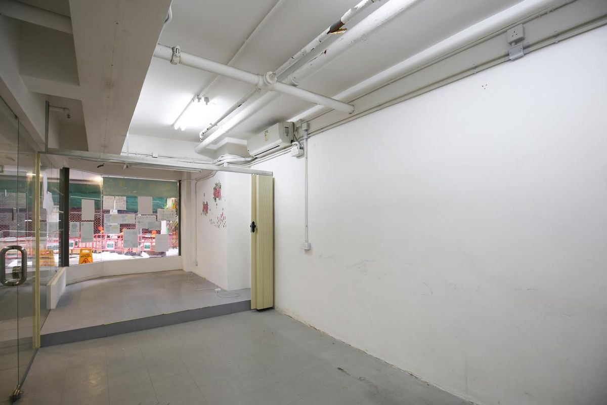 Storefront listing Great Pop-Up Space in Sai Ying Pun in Sai Wan, Hong Kong, Hong Kong.