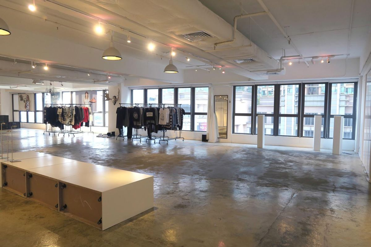 Storefront listing Hip Pop-Up Space in West Kowloon in Lai Chi Kok, Hong Kong, Hong Kong.