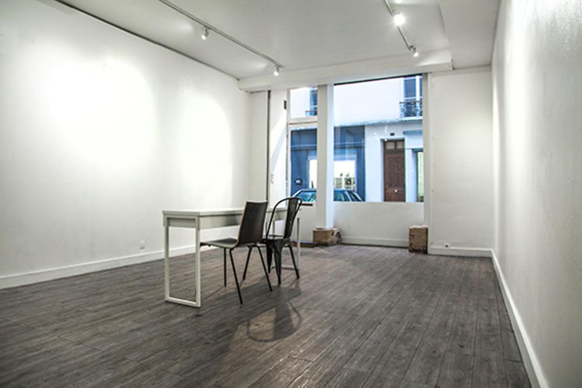 Storefront listing Contemporary Gallery Space in Le Marais in Le Marais, Paris, France.