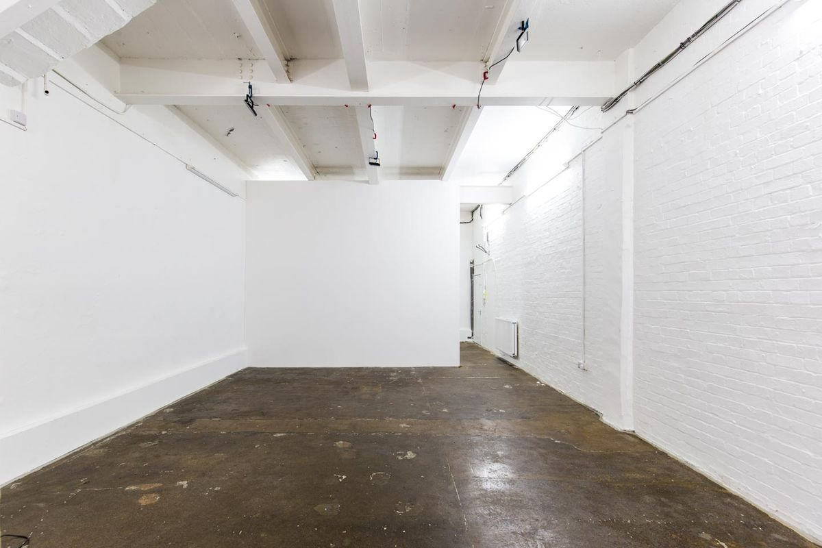 Storefront listing Compact Studio in East London in Dalston, London, United Kingdom.