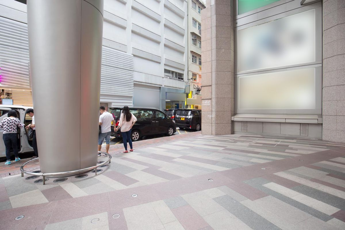 Storefront listing Mall Pop-Up Space in Causeway Bay in Causeway Bay (West), Hong Kong, Hong Kong.