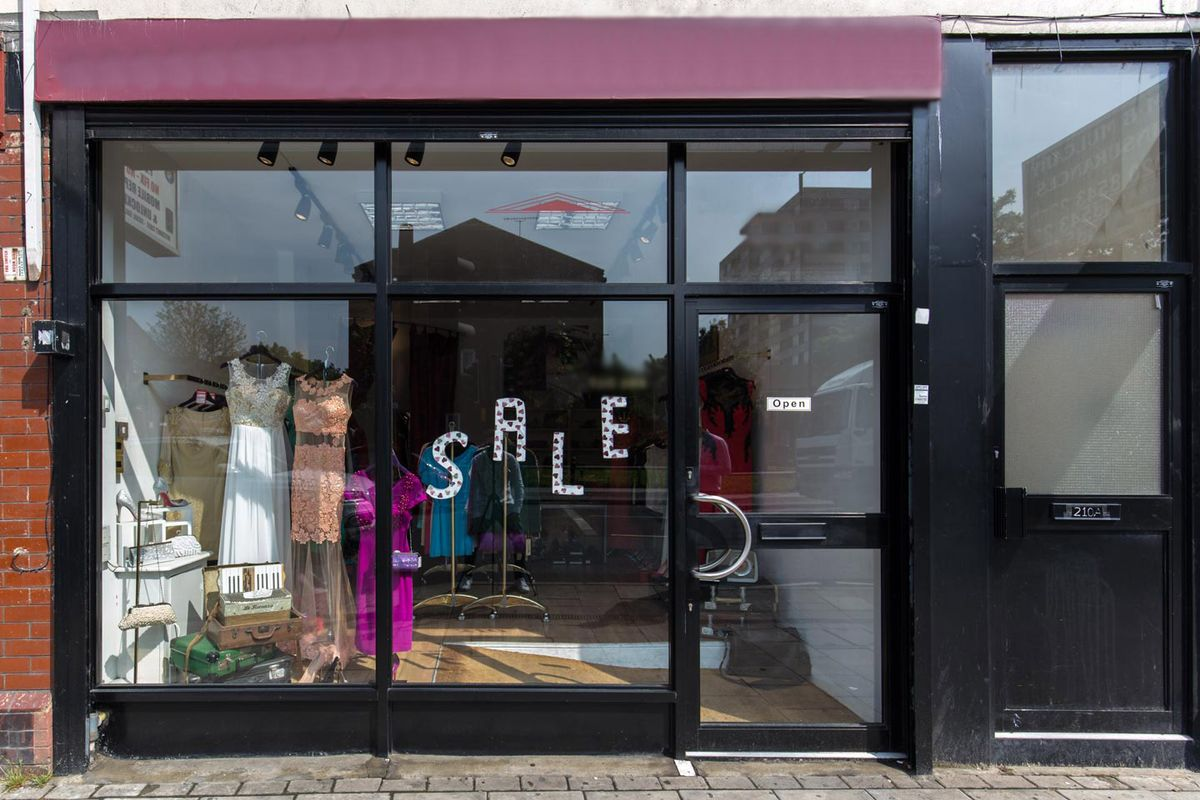Storefront listing Pop-Up Boutique in Wimbledon in Wimbledon, London, United Kingdom.