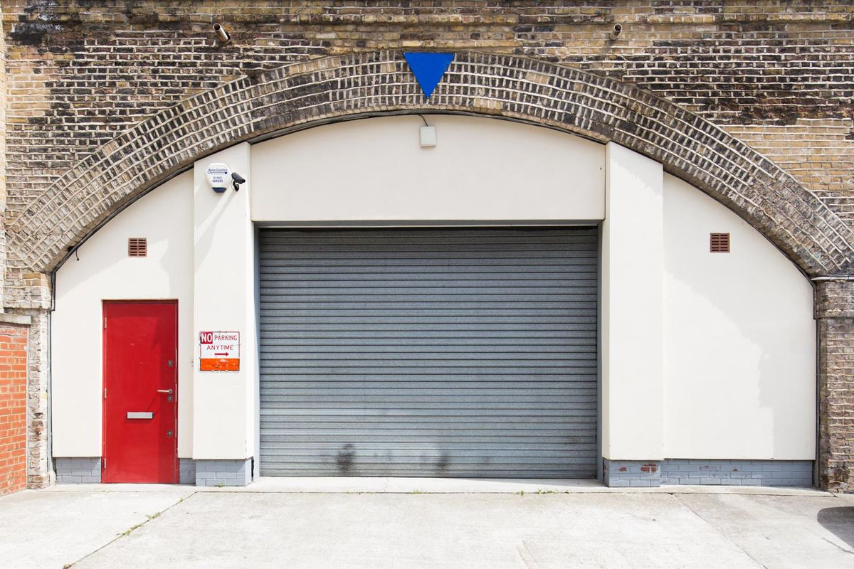 Storefront listing Converted railway arch in Hoxton in Bethnal Green, London, United Kingdom.