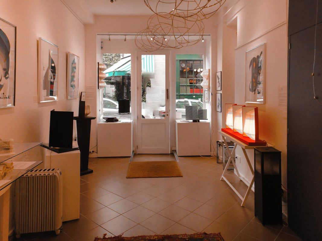 Storefront listing Characterful Boutique in Le Marais in Le Marais, Paris, France.