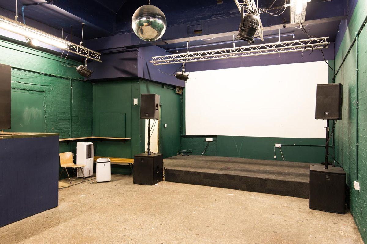 Storefront listing Pop-Up Event Space in Peckham in Peckham, London, United Kingdom.