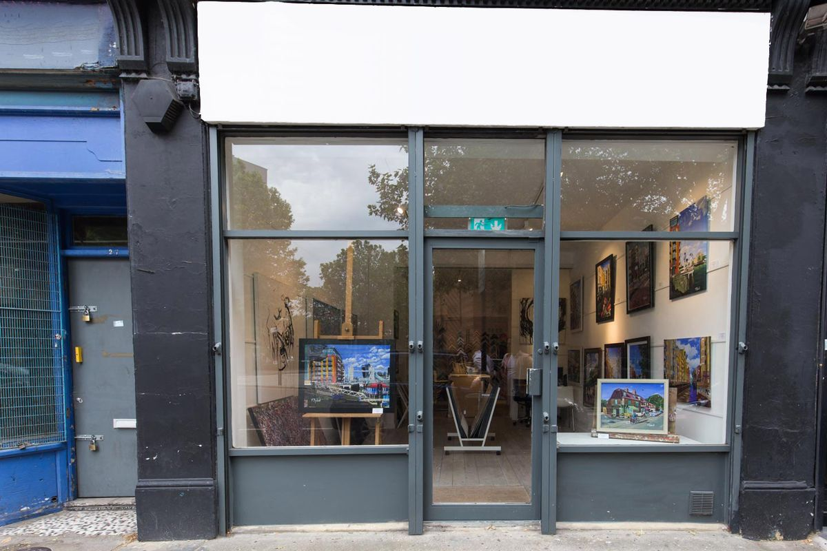 Storefront listing Beautiful Gallery in Bermondsey in Bermondsey, London, United Kingdom.