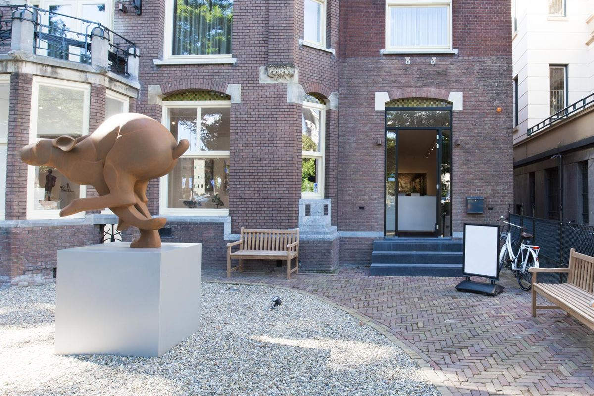 Storefront listing Premium Art Gallery Located a Stone's Throw Away from the Rijksmuseum, Amsterdam, Netherlands.