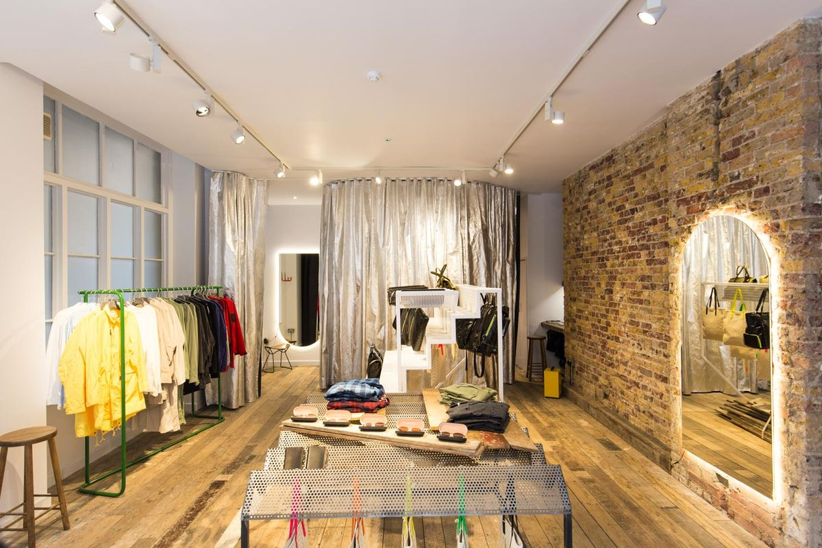 Storefront listing Pop-Up Boutique in Shoreditch in Shoreditch, London, United Kingdom.