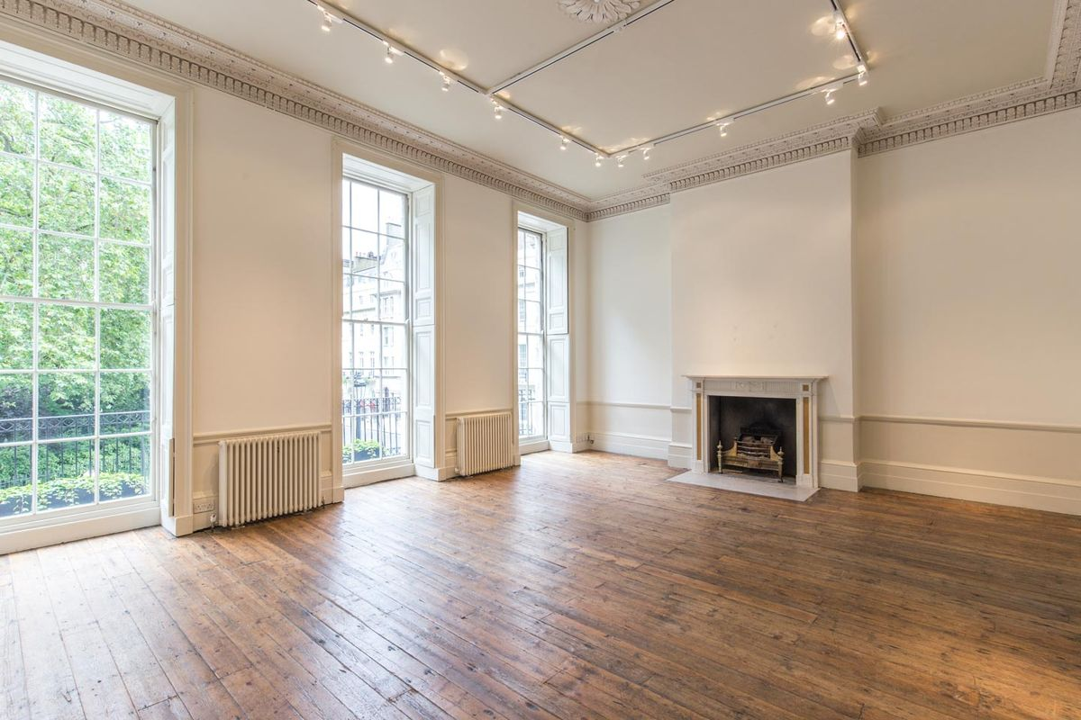 Storefront listing Elegant Event Space in Fitzrovia in Fitzrovia, London, United Kingdom.
