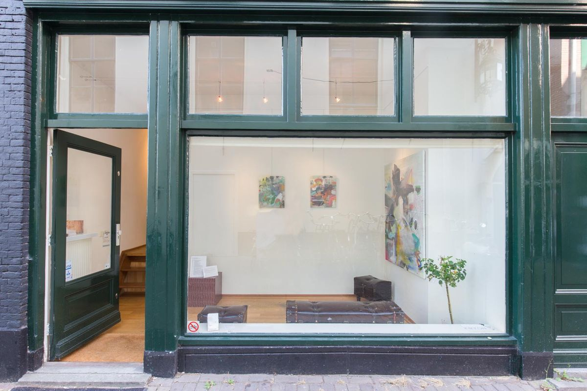 Storefront listing Pop-Up Showroom in Grachtengordel in Grachtengordel, Amsterdam, Netherlands.