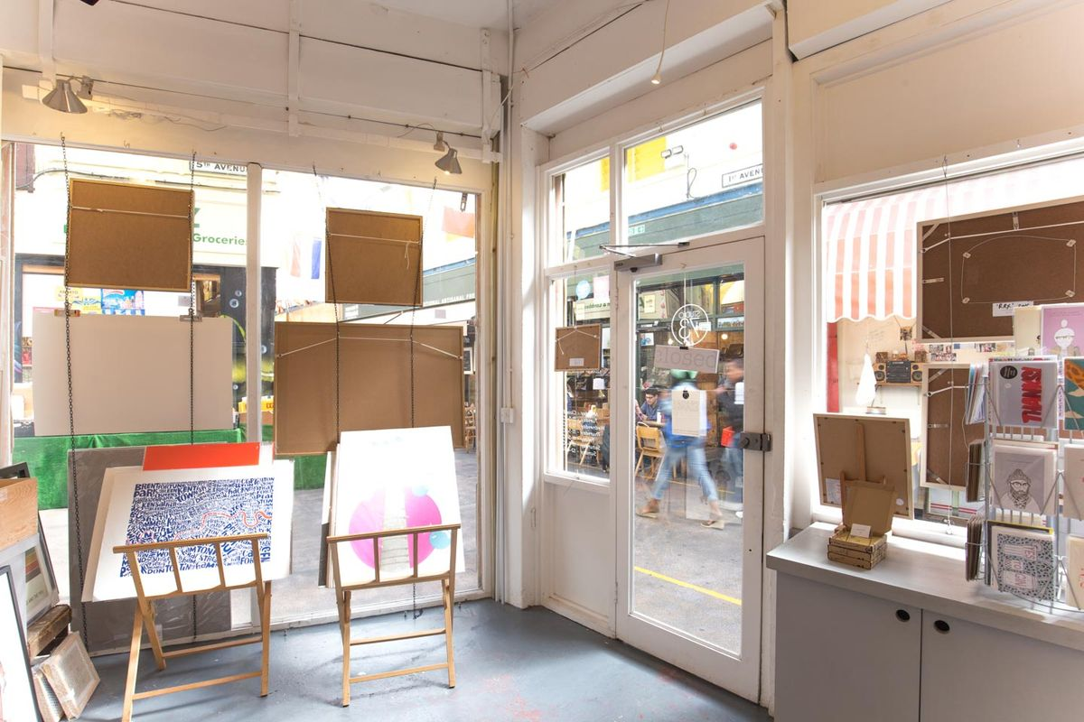 Storefront listing Pop-Up Space in Brixton Village in Brixton, London, United Kingdom.