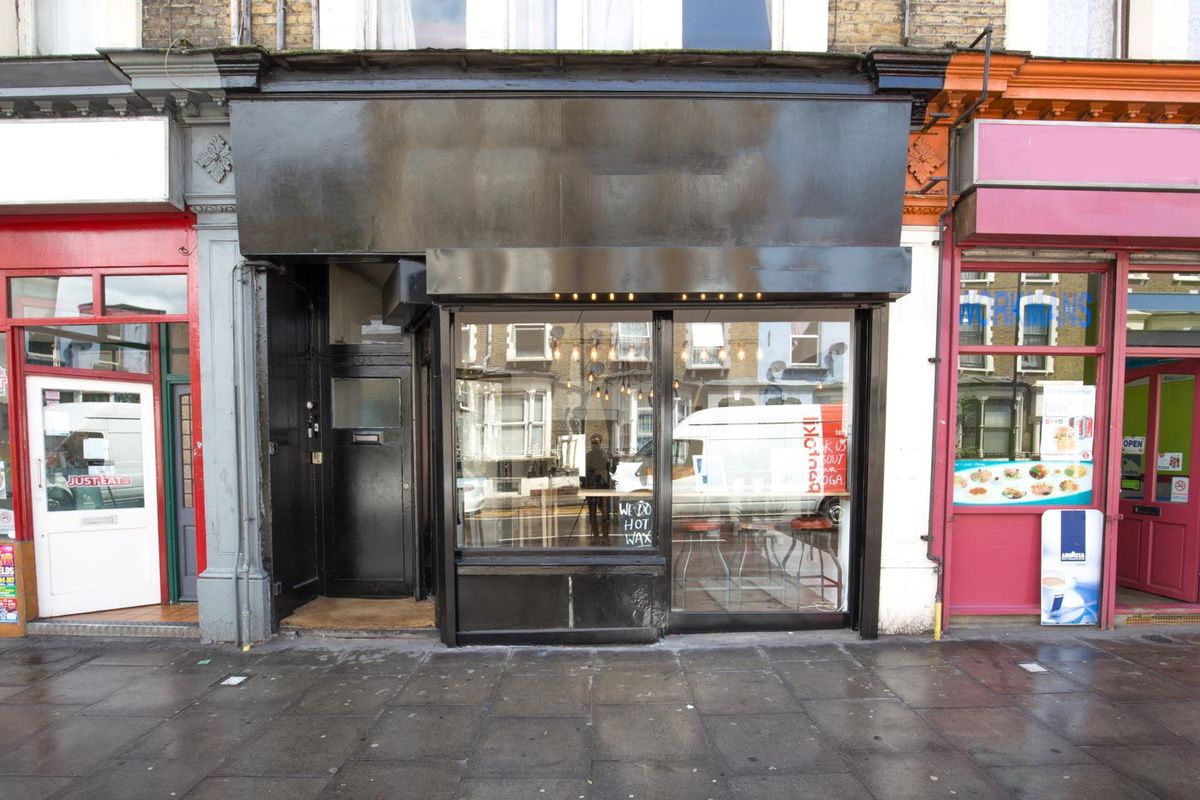 Storefront listing Pop-Up Retail Space in Dalston in Hackney, London, United Kingdom.