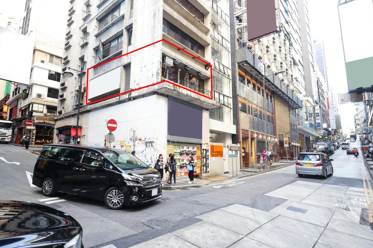 Storefront listing Top Pop-Up Space in Lan Kwai Fong in Central, Hong Kong, Hong Kong.