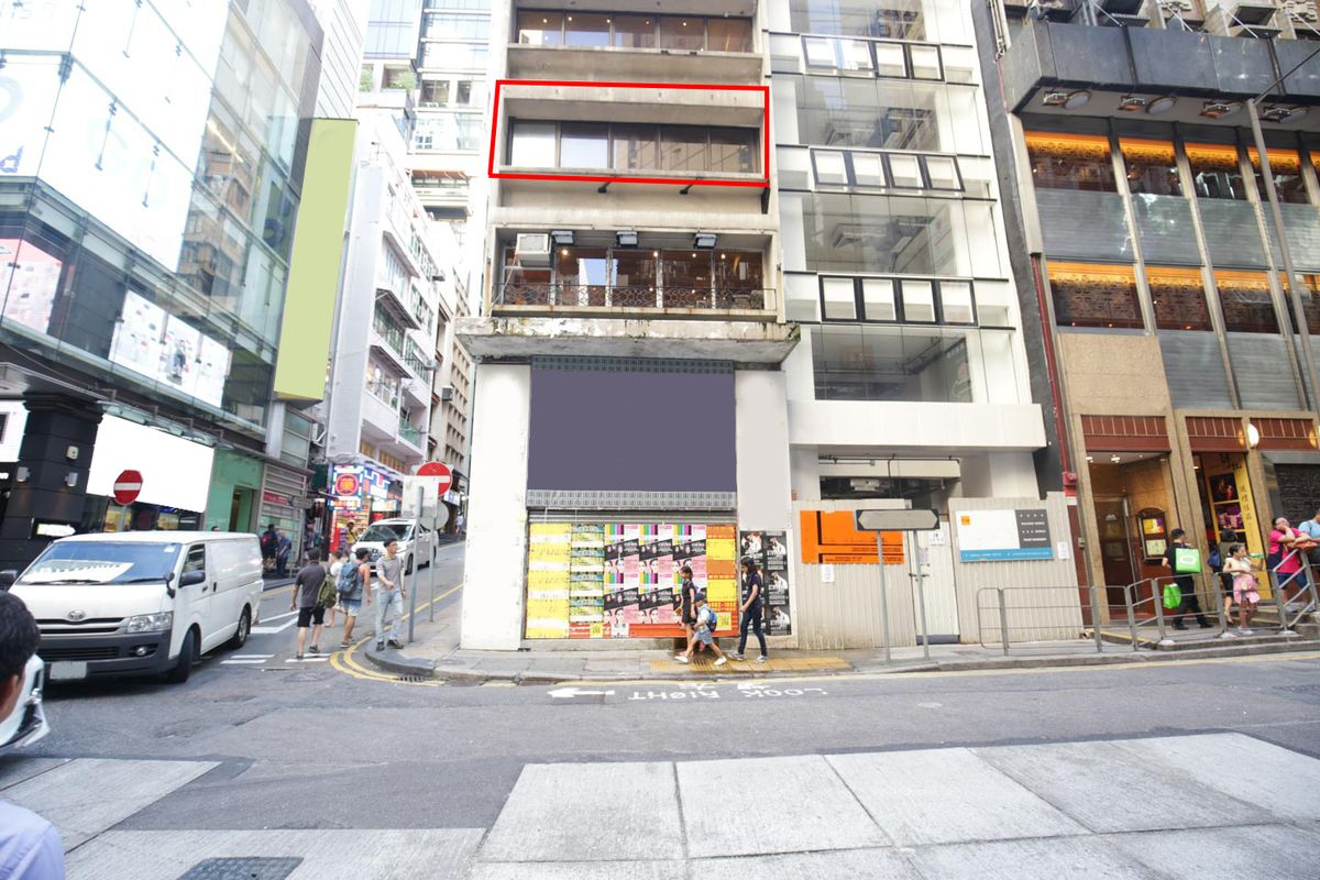 Storefront listing Edgy Pop-Up Space in Lan Kwai Fong in Central, Hong Kong, Hong Kong.