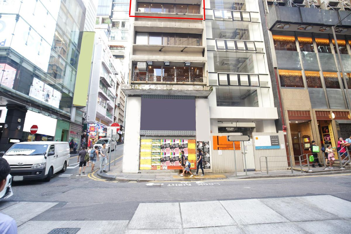 Storefront listing Pop-Up Space in Lan Kwai Fong in Central, Hong Kong, Hong Kong.