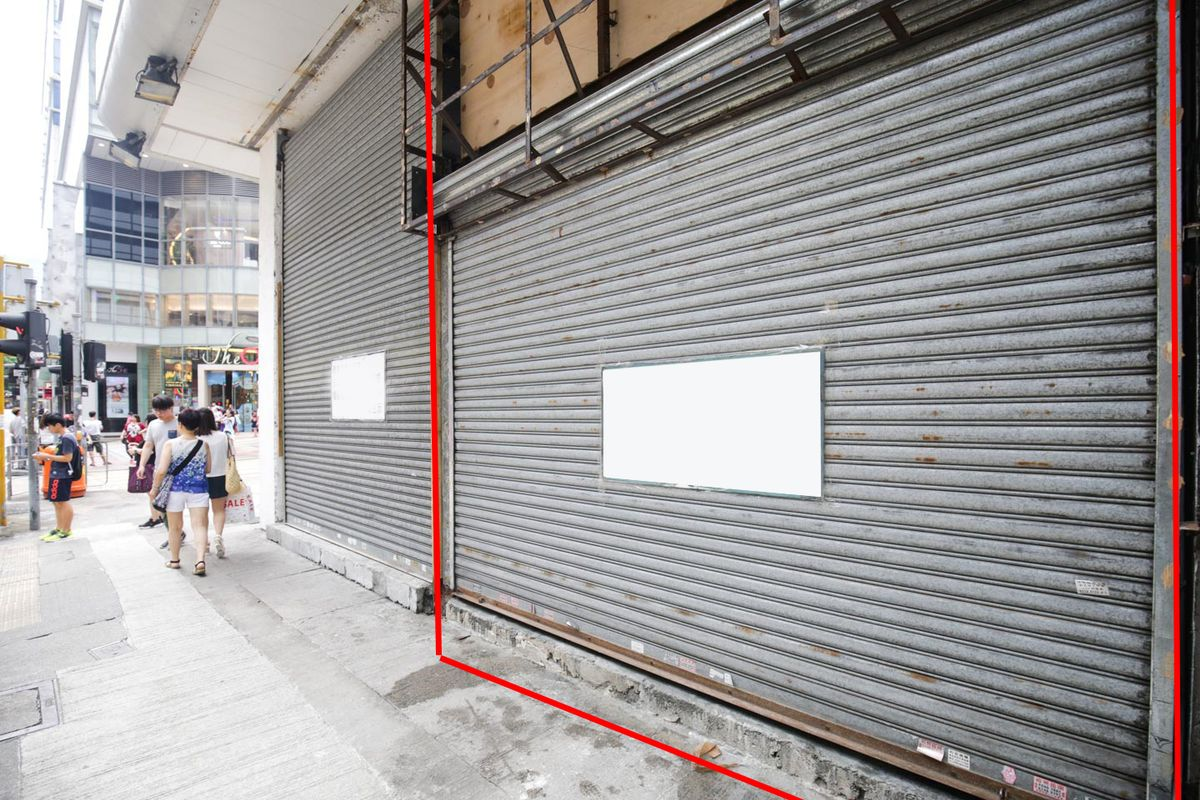 Storefront listing Top space for pop-ups in the prime loation of TST in Tsim Sha Tsui, Hong Kong, Hong Kong.