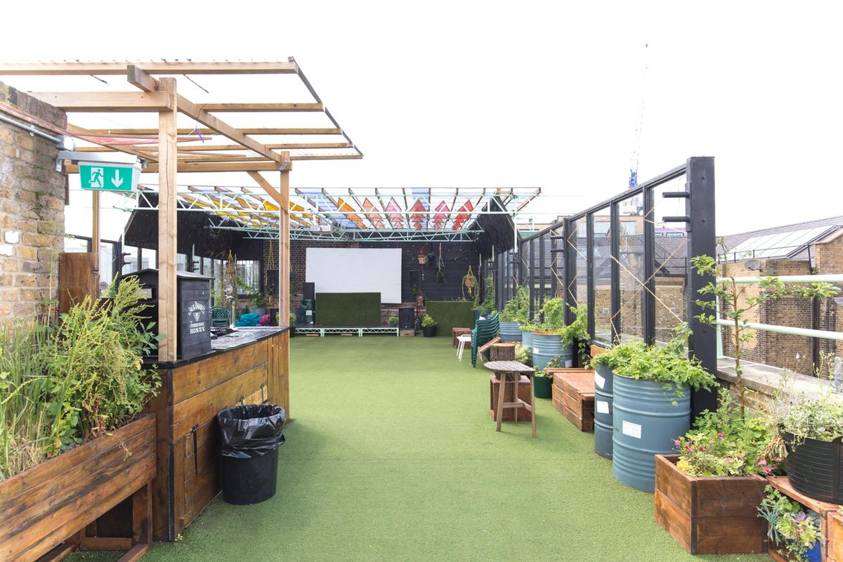 Storefront listing Pop-Up Event Rooftop in Hackney in Hackney, London, United Kingdom.