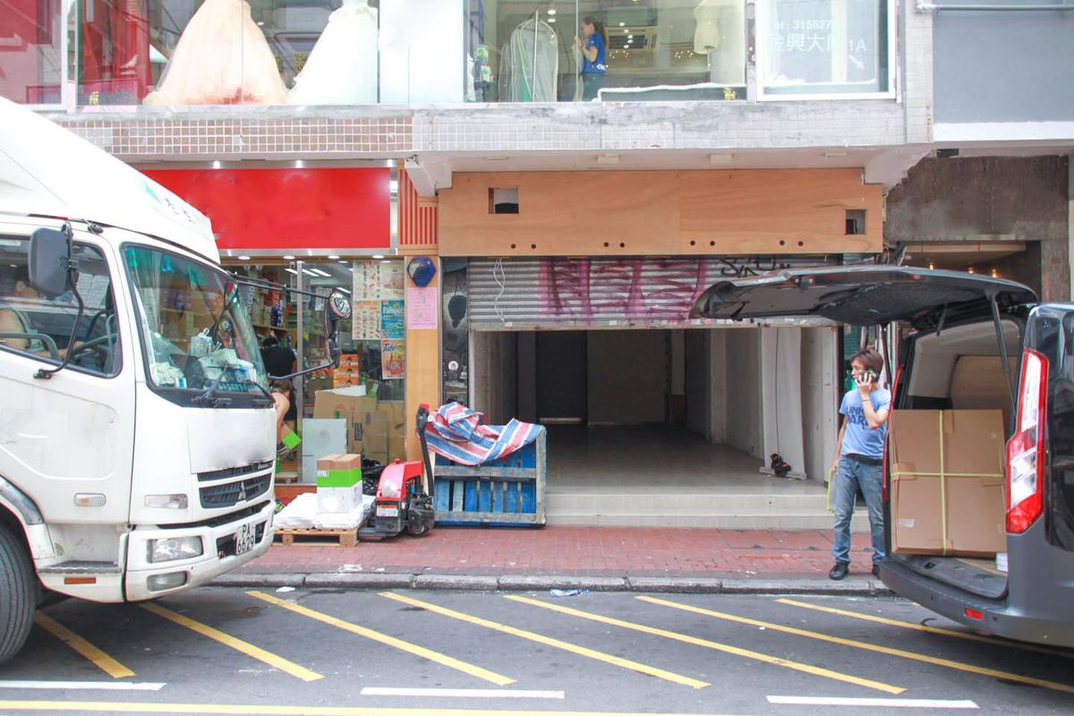 Espace Storefront Spacious Pop-Up Shop in TST dans Tsim Sha Tsui, Hong Kong, Hong Kong.