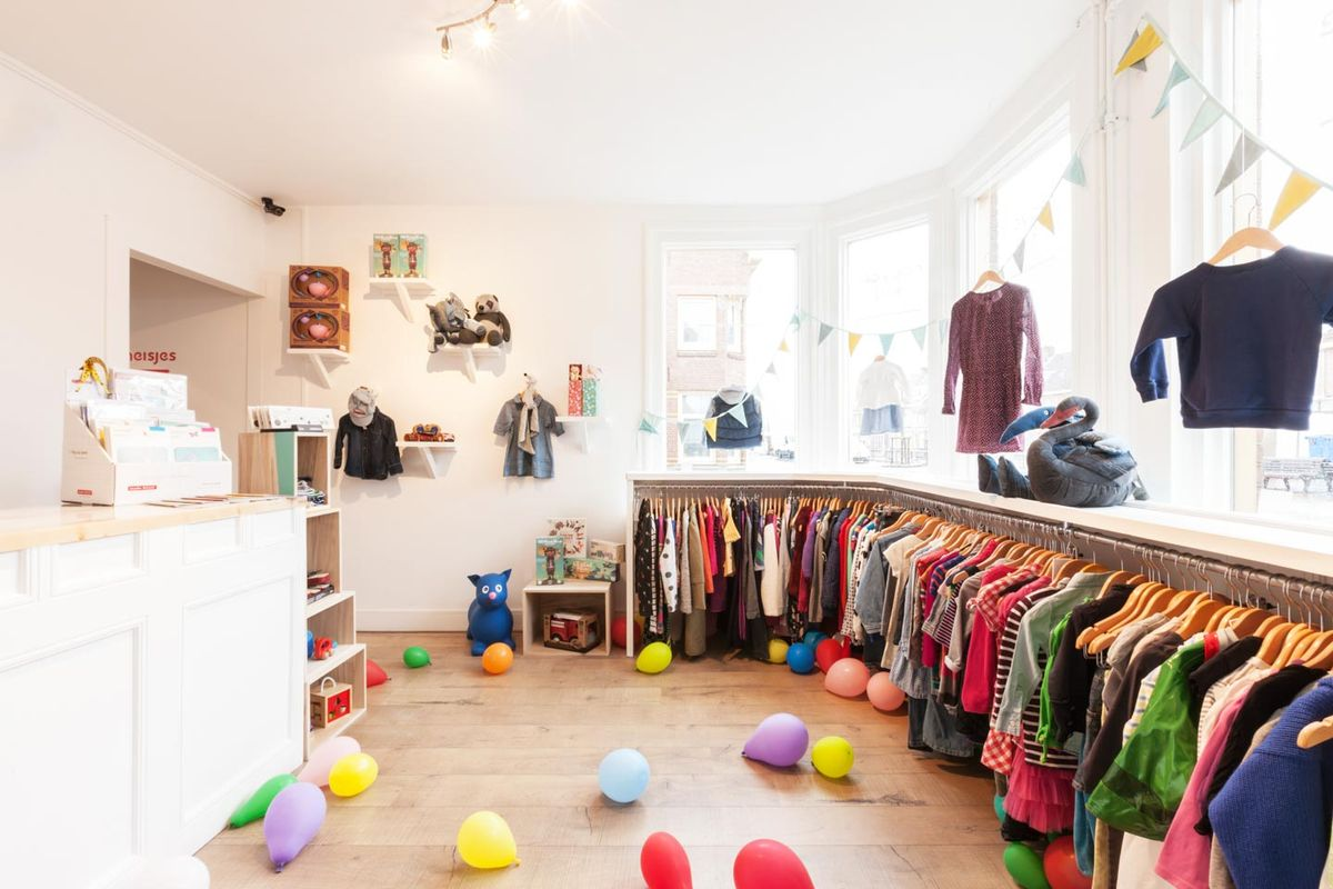 Espace Storefront Friendly Boutique in Rising Noord dans Noord, Amsterdam, Netherlands.