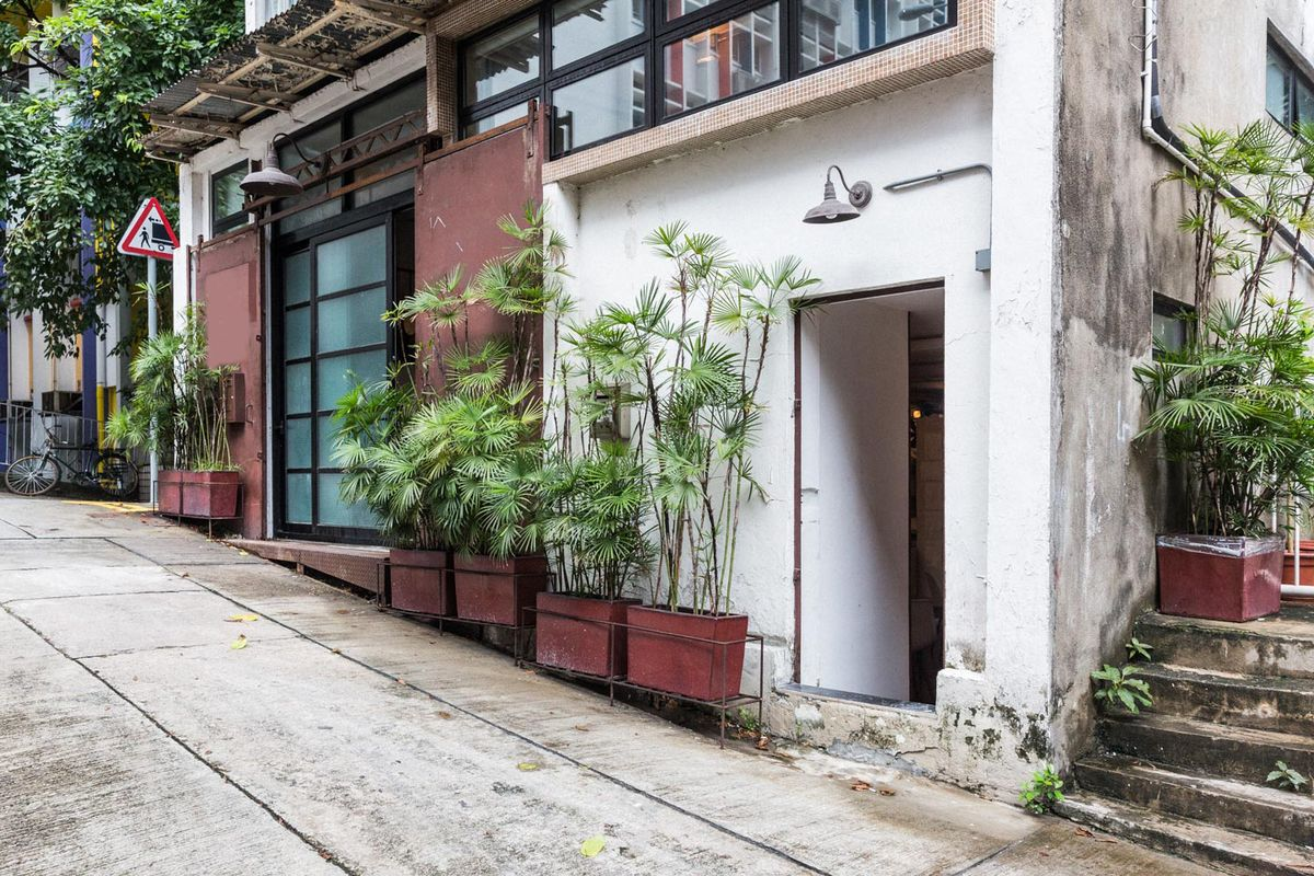 Storefront listing Large Pop-Up Shop in Sheung Wan in Central, , Hong Kong.