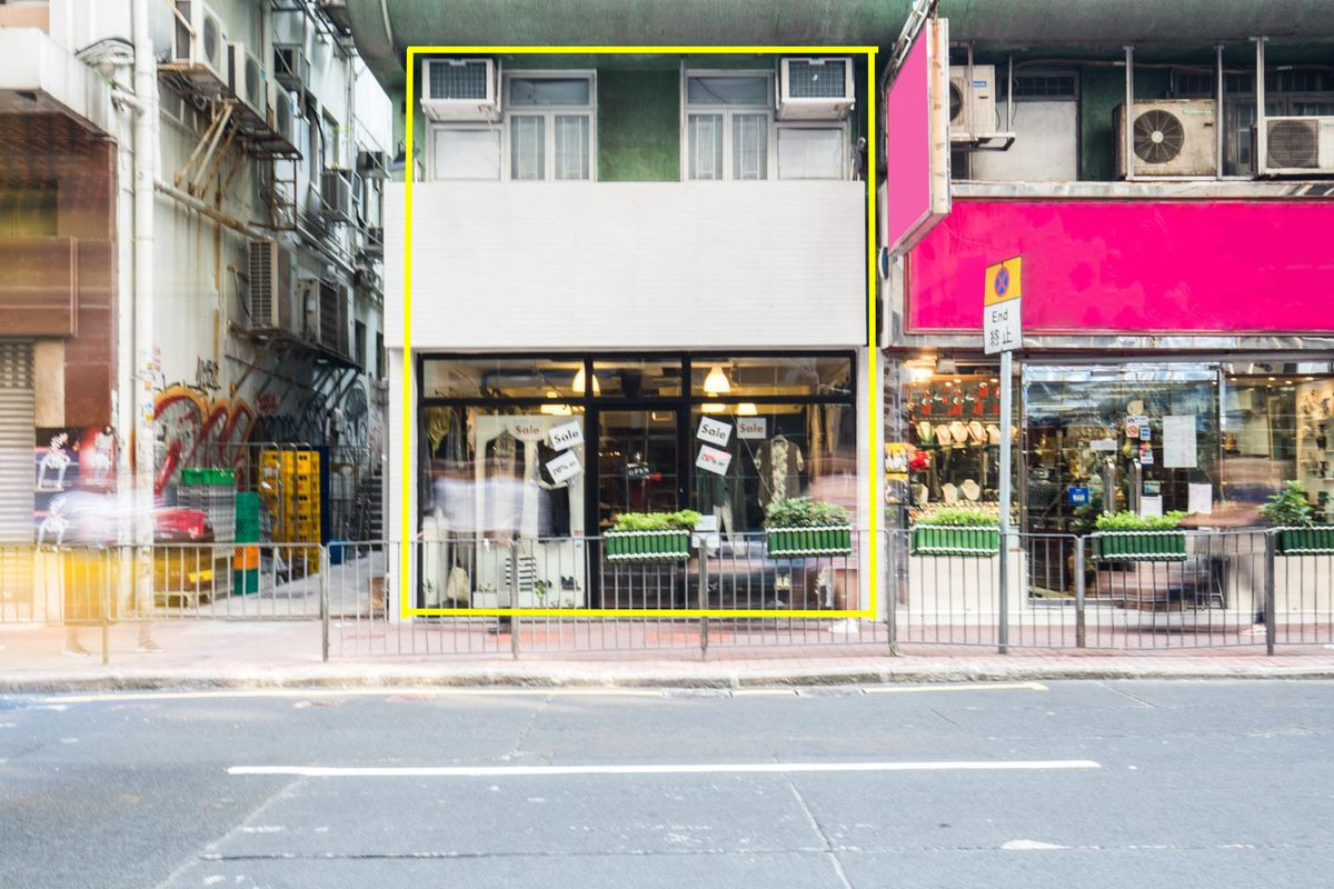 Storefront listing Elegant Pop-Up Space in Central in Sheung Wan, Hong Kong, Hong Kong.
