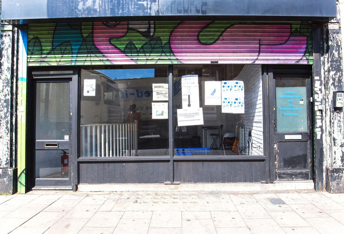 Espace Storefront Smart Showroom Space in Peckham dans Peckham, London, United Kingdom.