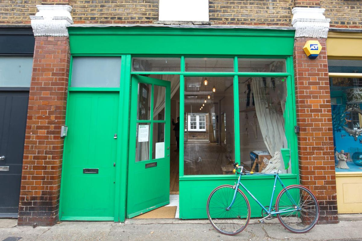 Storefront listing Unique Showroom Space in Hackney in Hackney, London, United Kingdom.