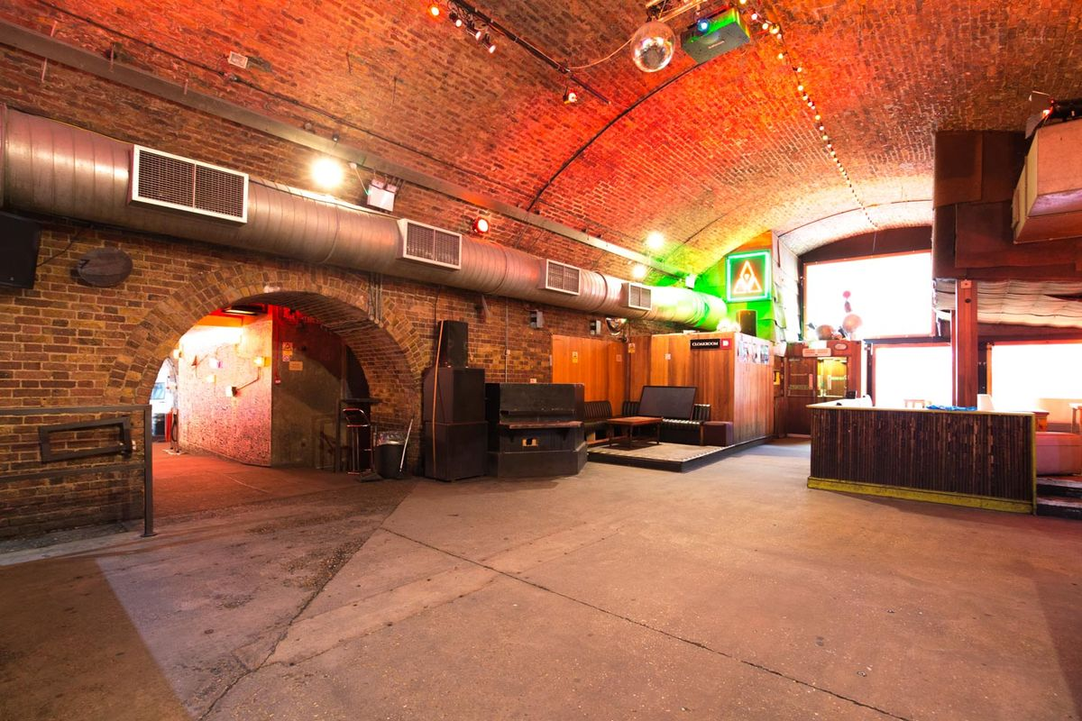 Storefront listing Event Space in Shoreditch in Shoreditch, London, United Kingdom.